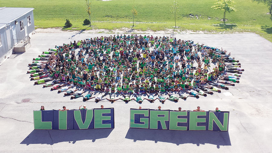 St. Marguerite d'Youville Catholic School: The Greenest School in Canada