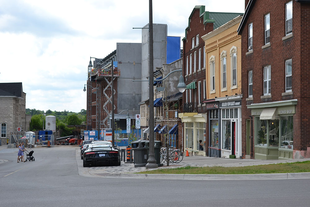 Wilson and Macdonell Streets, downtown Guelph