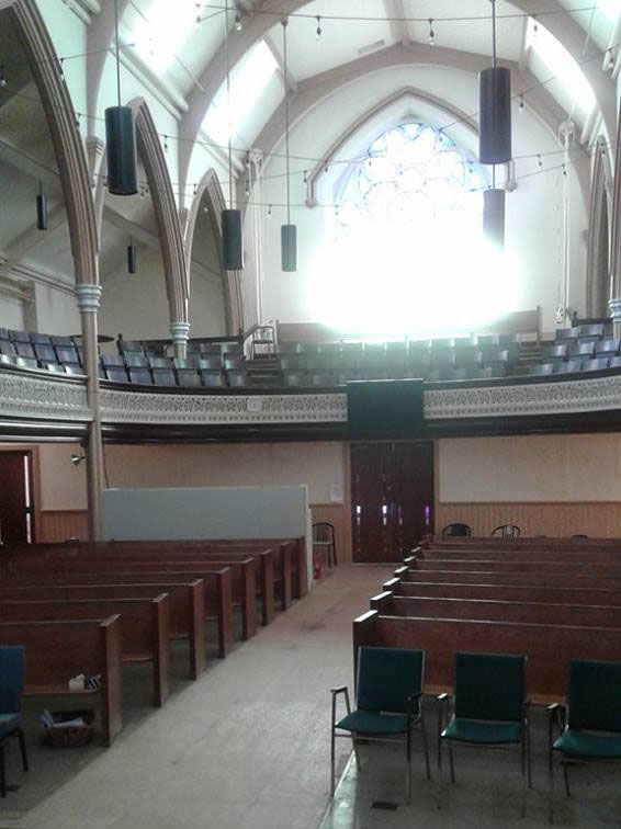 Royal City Church sanctuary