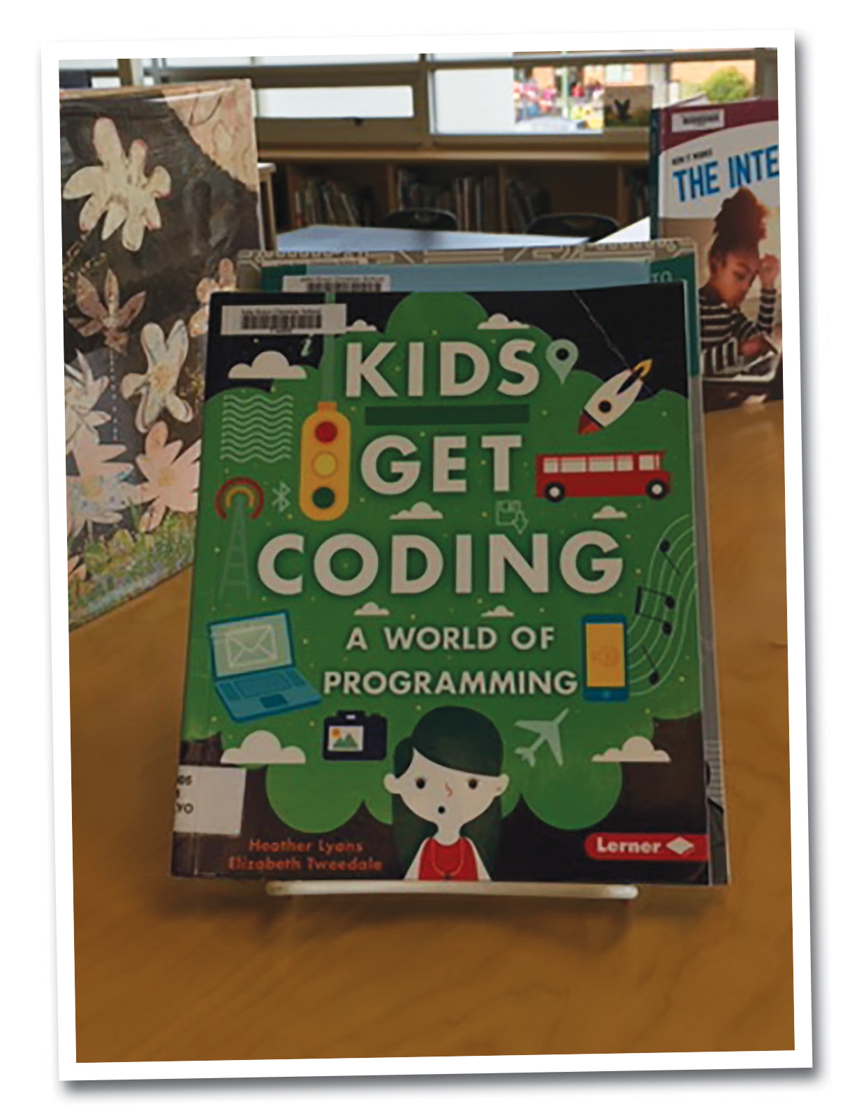 Library resources for learning and teaching coding.