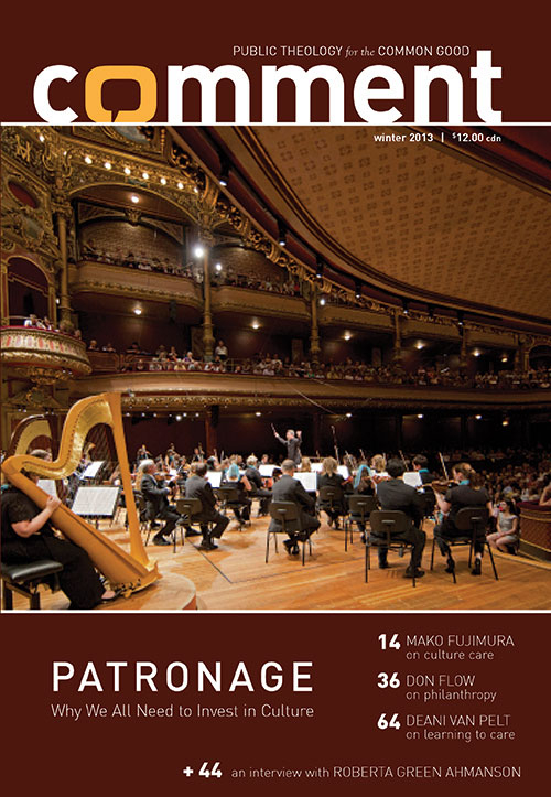 Patronage: Why We All Need to Invest in Culture Cover