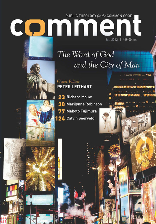 The Word of God and the City of Man Cover