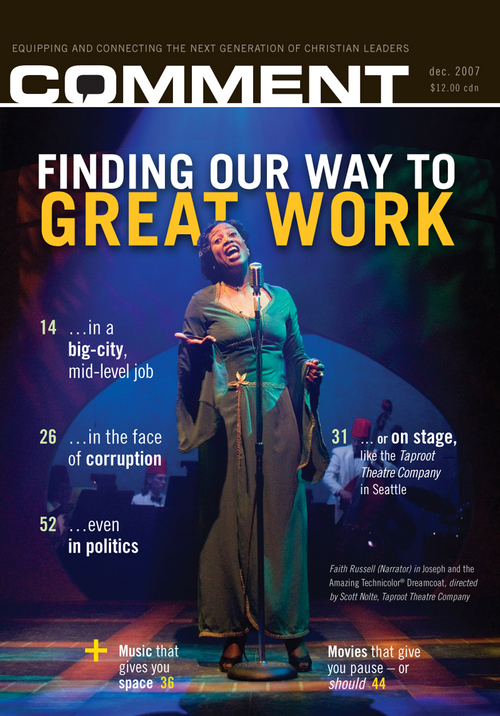 Finding our way to great work Cover
