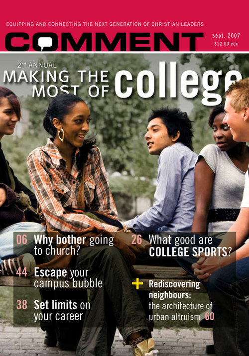 Making the most of college (second annual) Cover