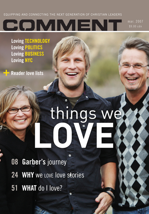 Things we love Cover