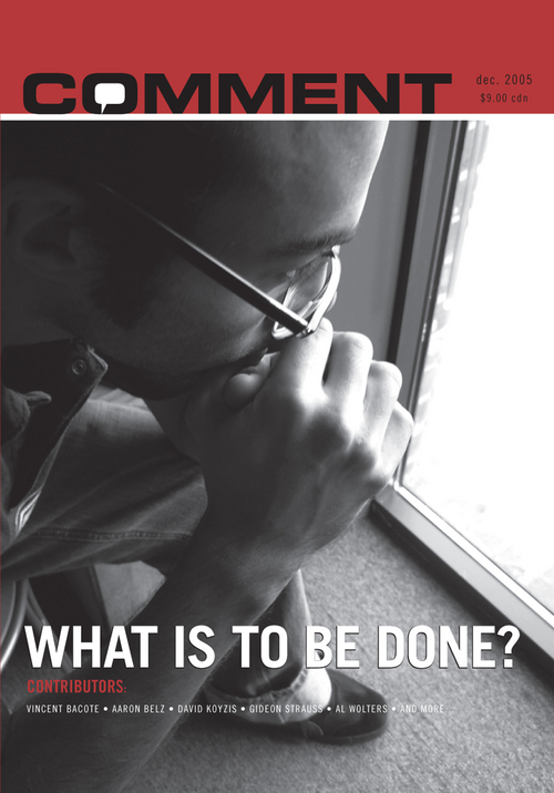 What is to be done? Cover