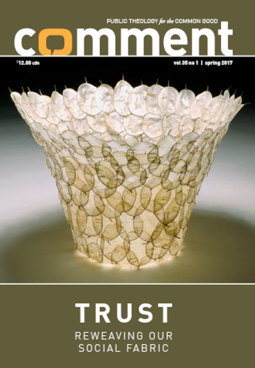 Trust: Reweaving Our Social Fabric Cover