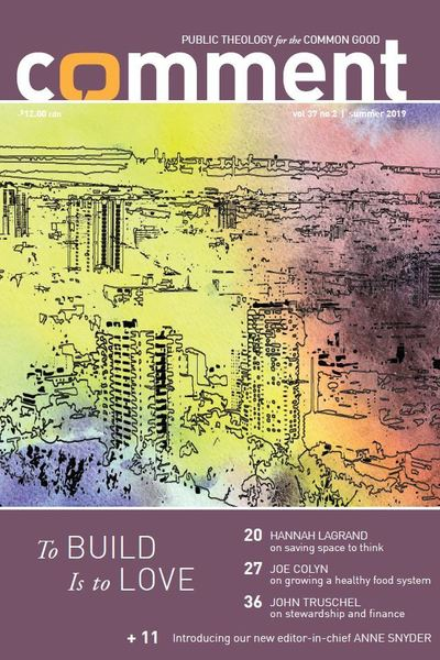 To Build Is to Love Cover