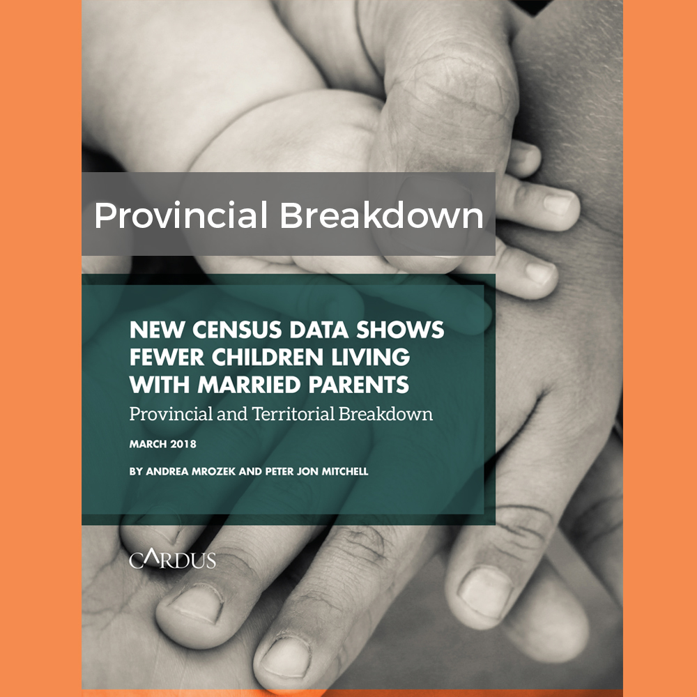 New Census Data Shows Fewer Children Living With Married Parents: Provincial and Territorial Breakdown