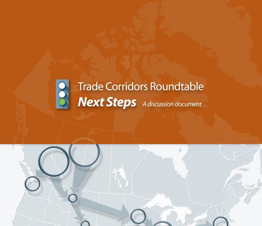Trade Corridors Roundtable: Next Steps, A Discussion Document
