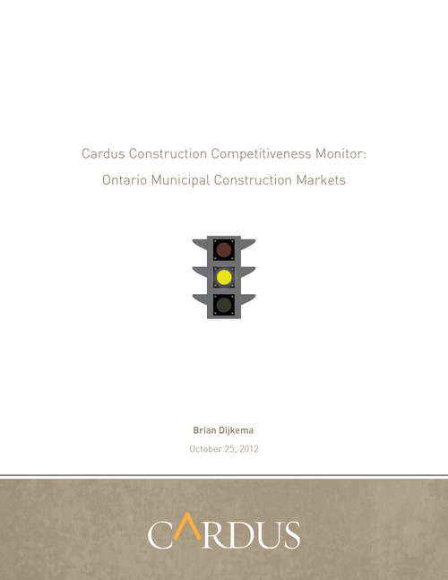 Cardus Construction Competitiveness Monitor