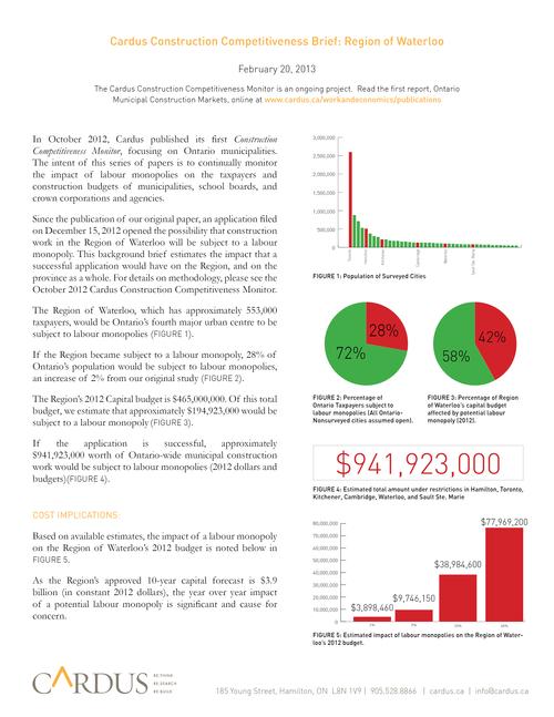 Cardus Construction Competitiveness Brief