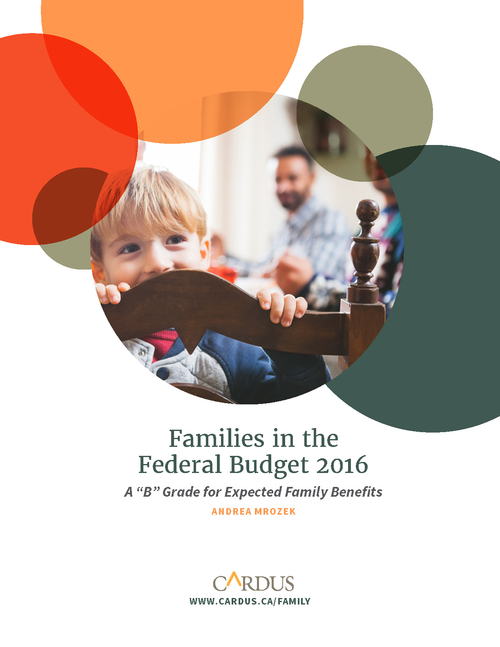 Families in the Federal Budget 2016