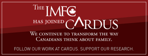 Cardus Statement on the Institute of Marriage and Family Canada