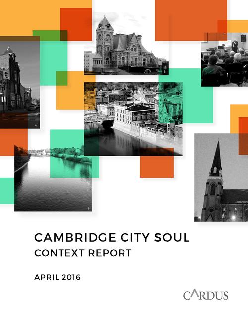 Cambridge City Soul: Context Report April 2016