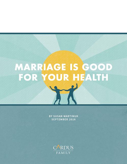 Marriage is Good for Your Health