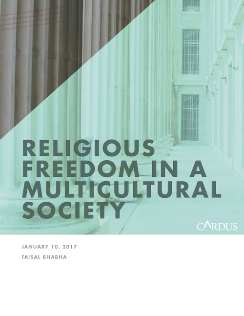 Religious Freedom in a Multicultural Society