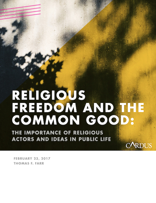 Religious Freedom and the Common Good