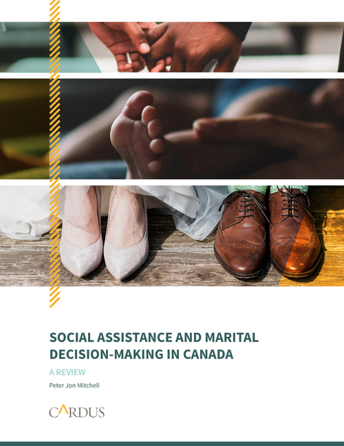 Social Assistance and Marital Decision-Making in Canada