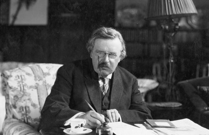 Cheering Up With Chesterton