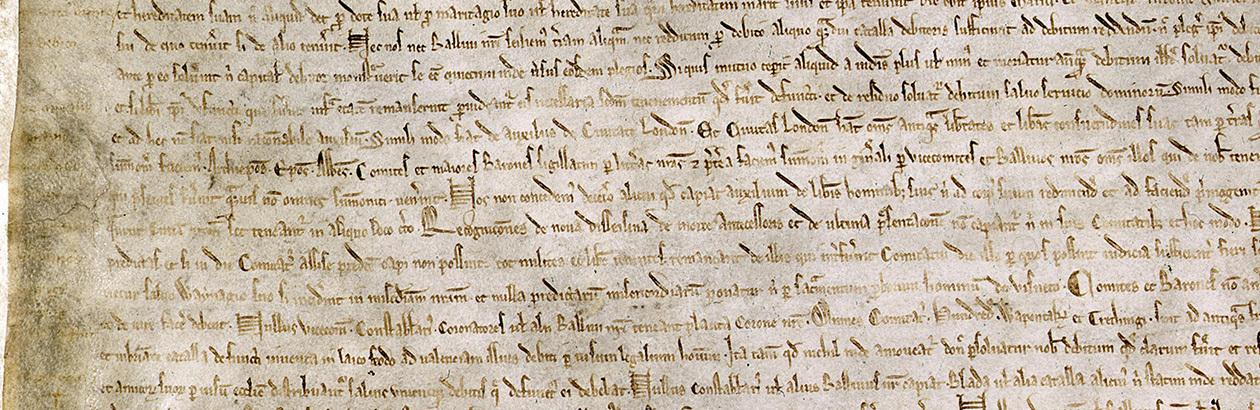 Magna Carta versus Canadian Charter