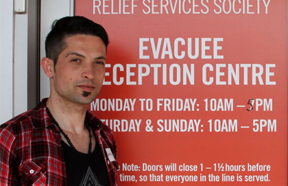 Syrian refugee extends hope to Fort McMurray evacuees