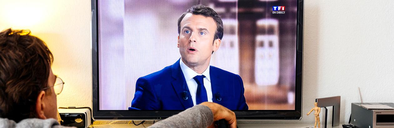 A Toast to Monsieur Macron