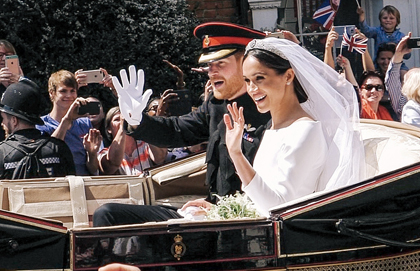 Fire at the Royal Wedding