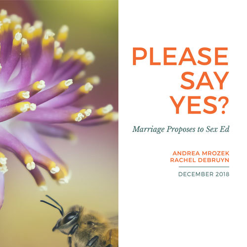 Please Say Yes? Why Marriage Should Be Included in Modern Sexuality Education Curricula