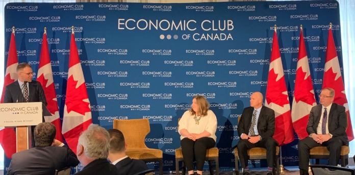 Remarks for Economic Club of Canada Presentation