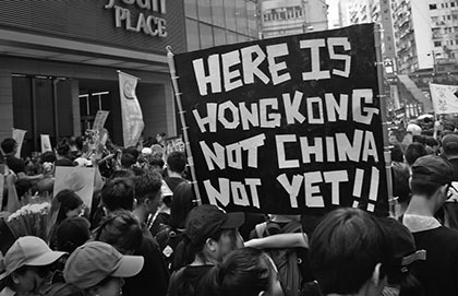 Hong Kong's Fall Is No Arab Spring