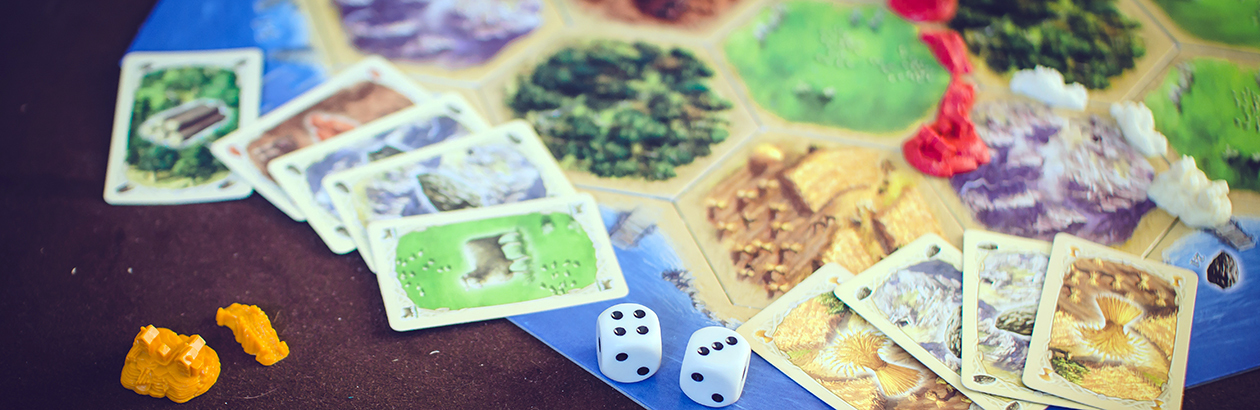 A Clue From Settlers of Catan