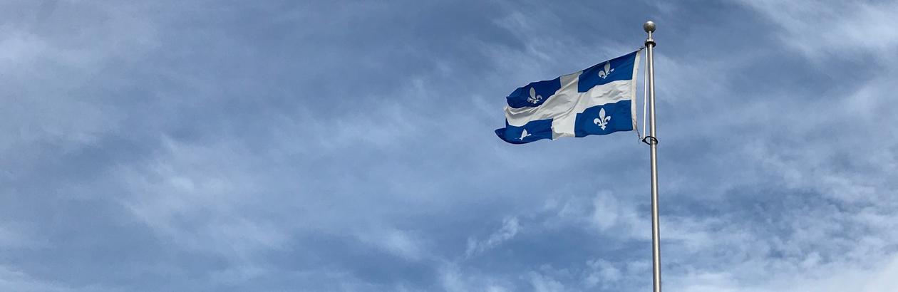 Le Québec théâtre d'un conflit de symboles