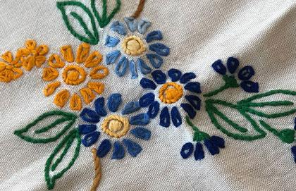 Embroidering Hope