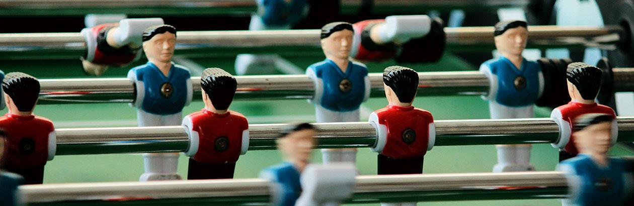 The Politics of Red Team! Blue Team!