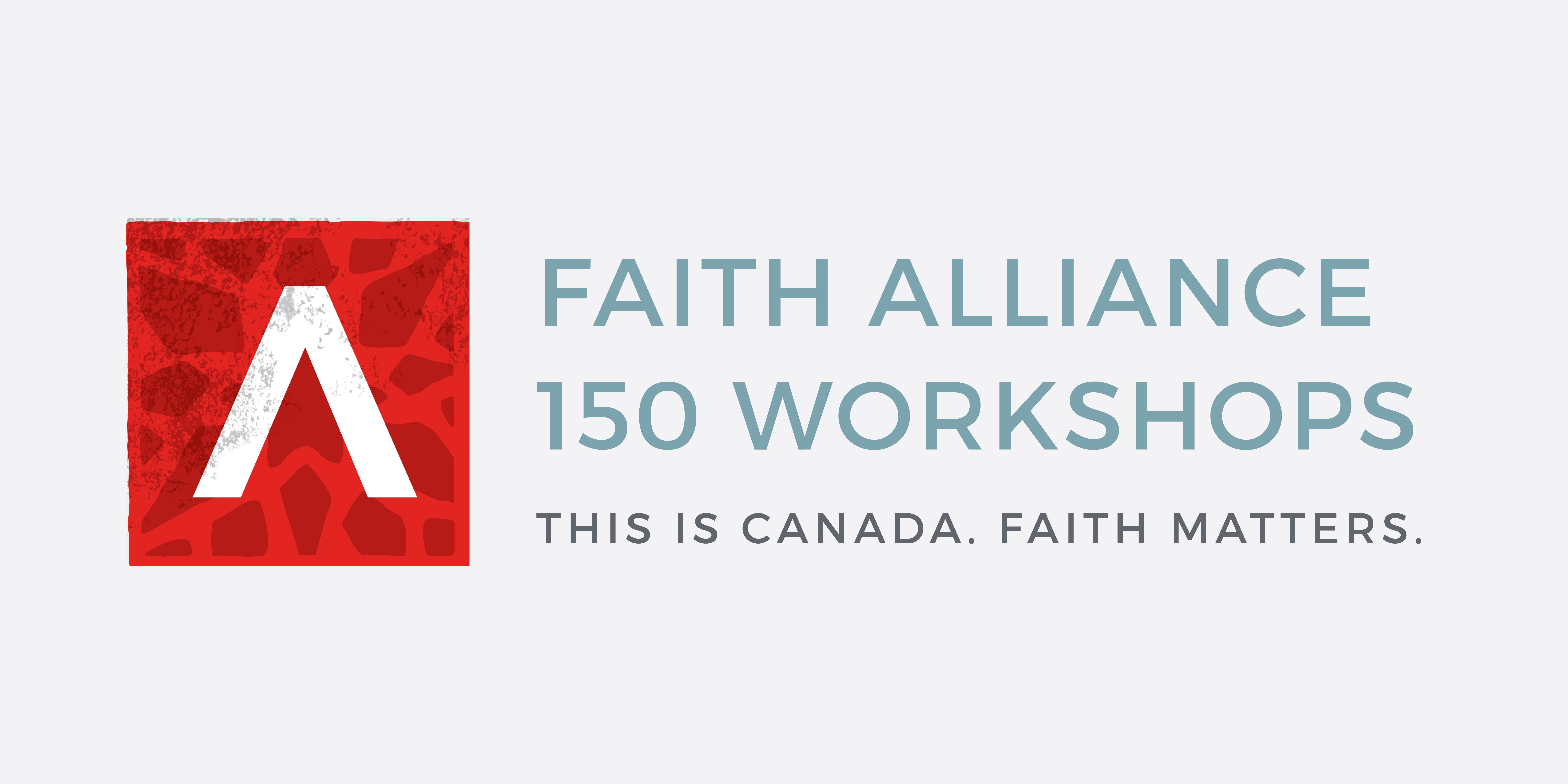 Calgary Faith Alliance Workshop
