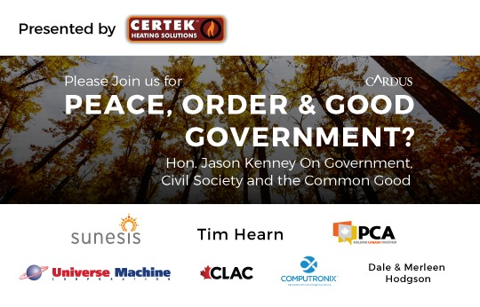 Peace, Order & Good Government? | Cardus