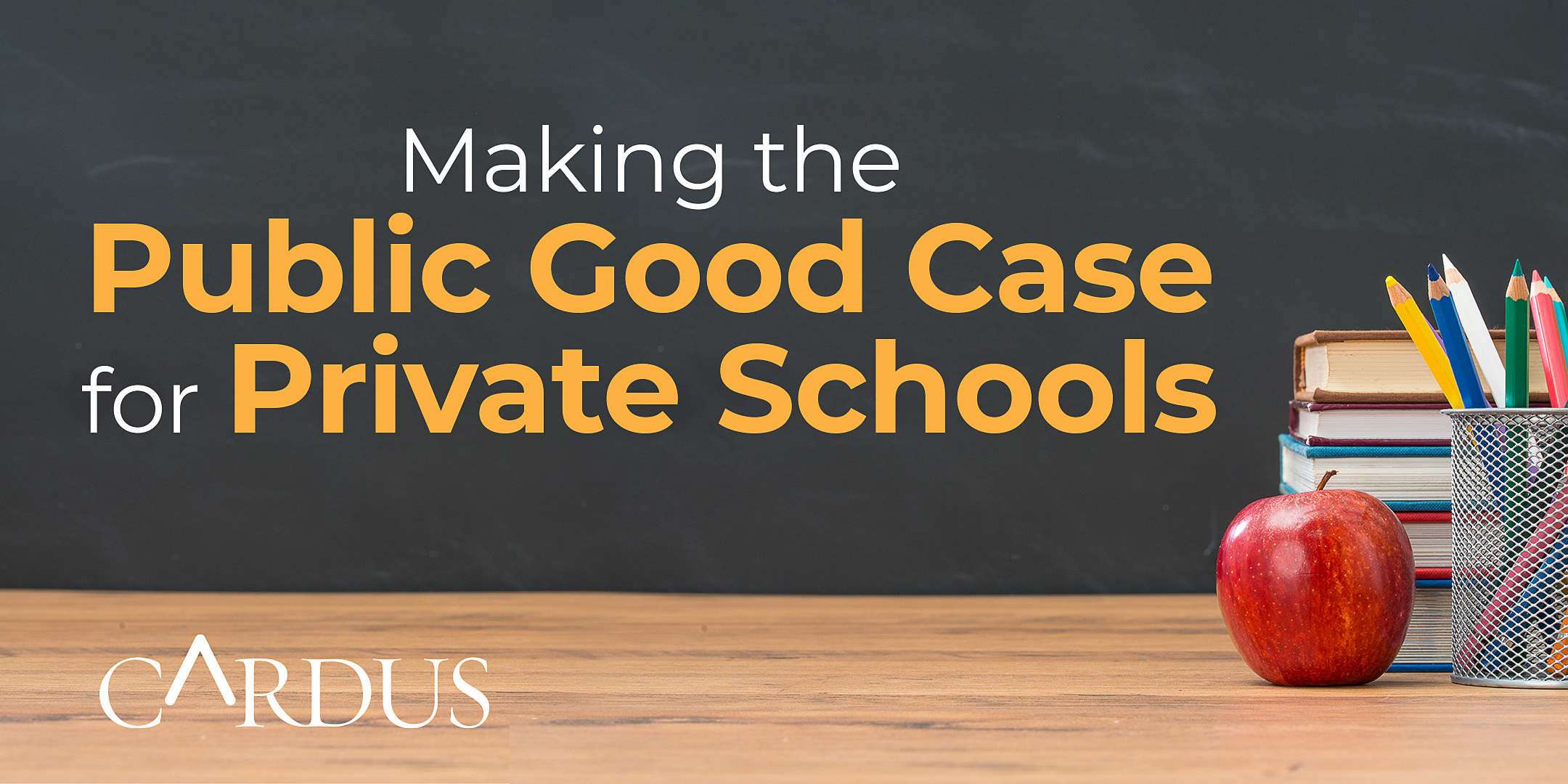 Making the Public Good Case for Private Schools