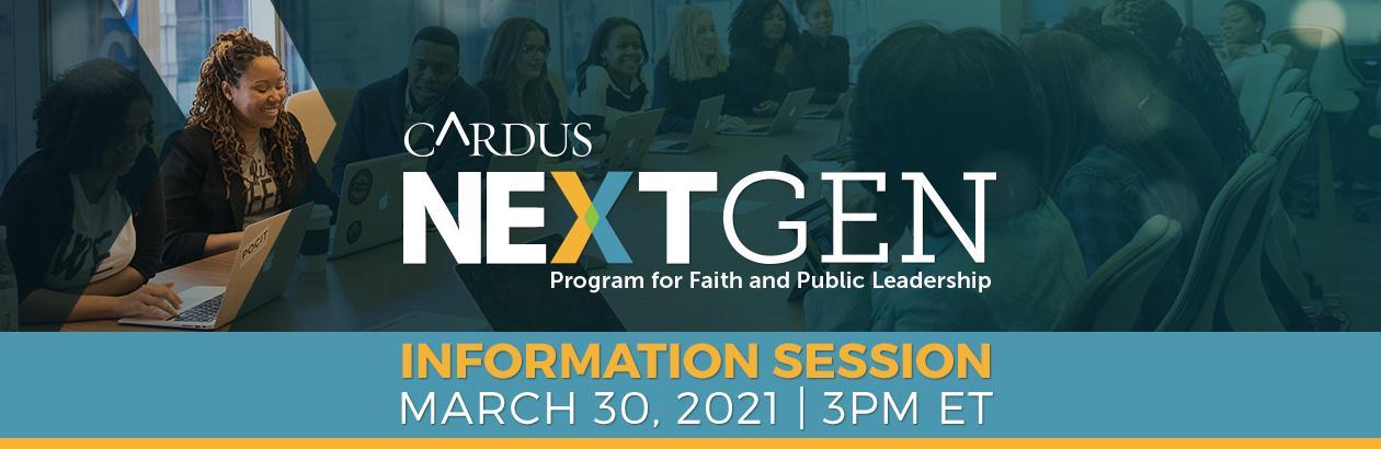 Cardus NextGEN Program: Information Session