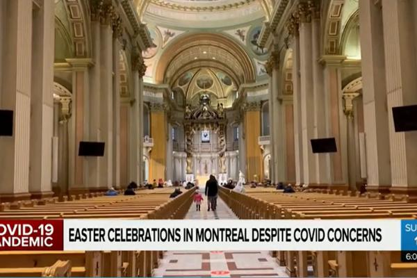 Easter celebrations in Montreal
